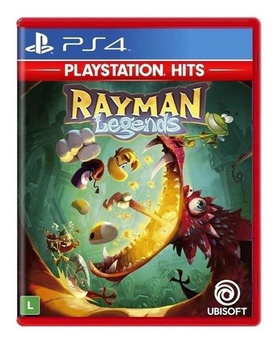 Rayman Legends Ubisoft Ps4 Físico