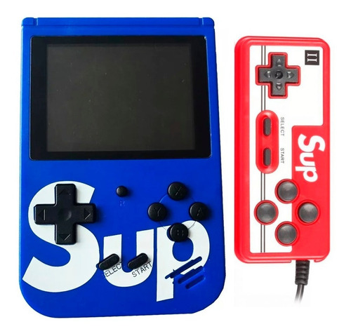 Mini Game Box Portátil Boy 400 Jogos Plus Sup Com Controle