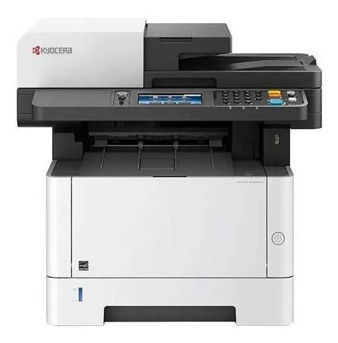 Impresora  Multifunción Kyocera Ecosys M2640idw Con Wifi Blanca Y Negra 120v