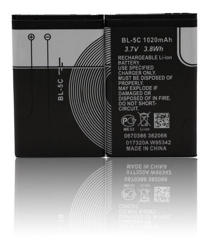 Bateria Pila Bl-5c Nokia Bocina Recargable Mayoreo Ele-gate
