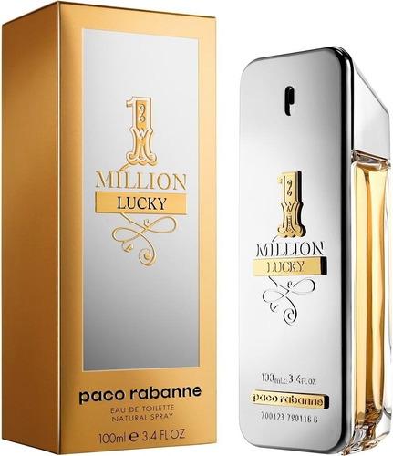 Perfume Locion One Million Luky 100ml I - mL a $646