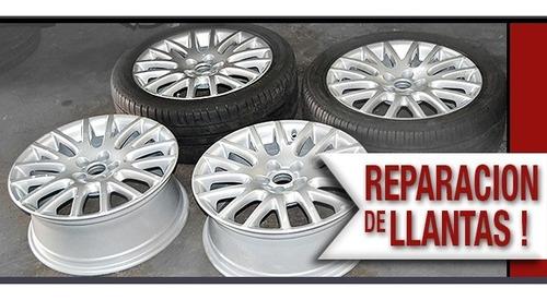 Reparacion Llantas  16 Con Pintura Y Centrado