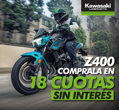 Kawasaki Z400 - Lidermoto  Retirála En Cuotas Sin Interés