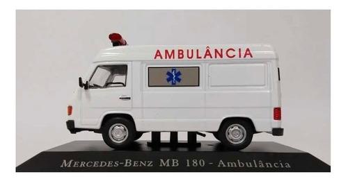 Mercedes Benz Ambulância Carrinho Escala 1/43deagostini