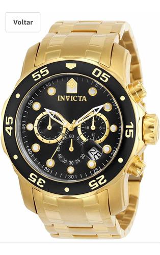 Relógio Invicta Pro Driver 0072 Importado Original
