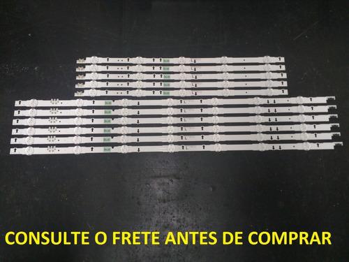 Kit 11 Barras De Led Samsung Un55j5300ag D4ge-550dc *usado*