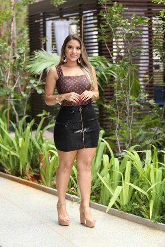 Body Feminino Suplex Alça Grossa Com Bojo Barato