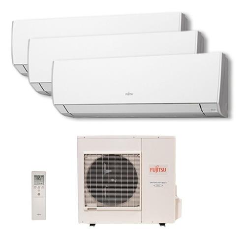 Ar Cond Tri Split Fujitsu Inverter 2x9000 1x12000btu 220v Qf