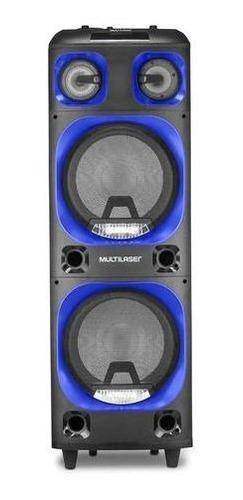 Caixa De Som Multilaser Sp343 Torre Double 2000w Bluetooth