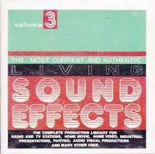 Cd Living Sound Effects - Volume 5 Original