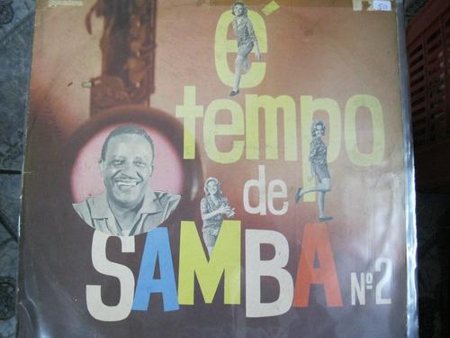 Lp  = É Tempo De Samba - Moacyr Silva Original