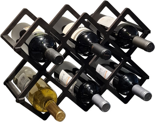 Bodega Cava Vino Vinoteca Encastre 8 Botellas Madera