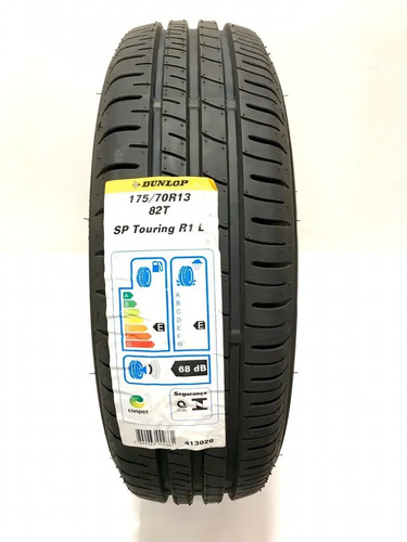 Kit Com  05 Pneus 175/70 R13 Dunlop Sp Touring R1 82t Novos