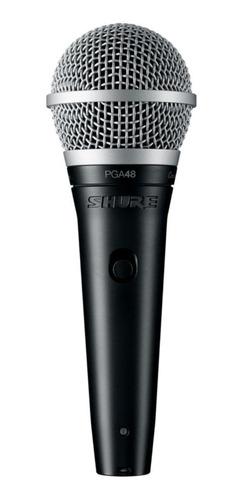 Micrófono Shure Pg Alta Series Pga48-xlr Dinámico Cardioide Negro