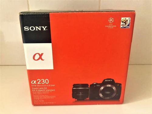 Câmera Fotográfica Sony Alpha A230 Na Caixa Semi Nova