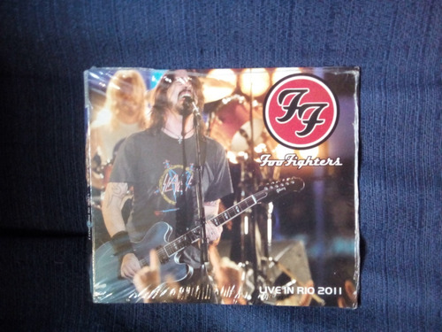 Foo Fighters - Live In Rio 2011 (cd Lacrado)