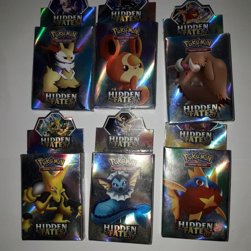 Pokèmon Pack Cartas Hidden Fates Precio Por Pack 36 Cartas