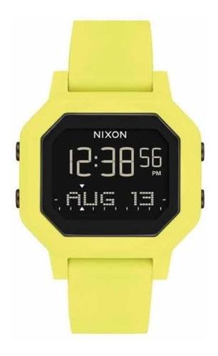 Relógio Nixon Siren Citrus/verde Limão Tábua Da Maré