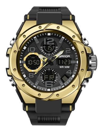 Relógio Sanda 6008 Militar Esportivo Tático Shock Original