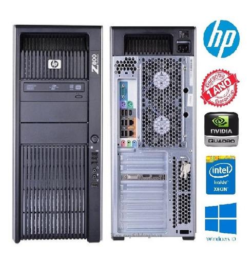 Hp Z800 Intel Xeon X5630, 16 Gb Ram, Sata 1tb, Fx5800 4gb