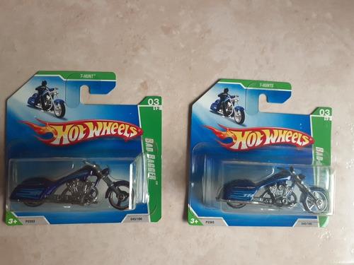 2 Hot Wheels Moto Bad Bagger T Hunt E T Hunt Super Original