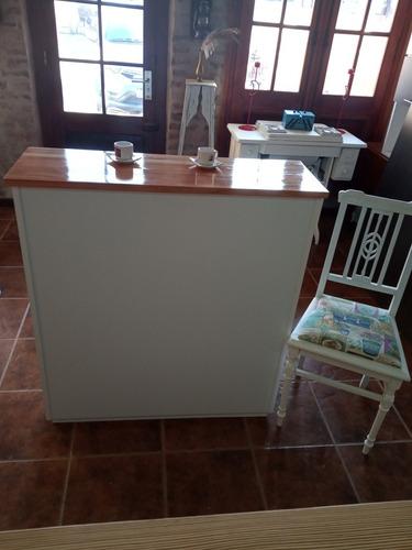 Barra O Mueble De Cocina Con Finger