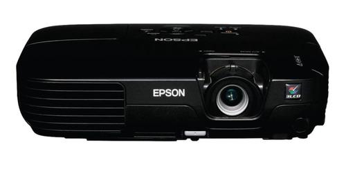 Projetor Epson Powerlite S8+ 2500lm Preto 100v/240v