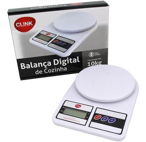 Balança Digital 10kg Para Cozinha Alimentação Saudável