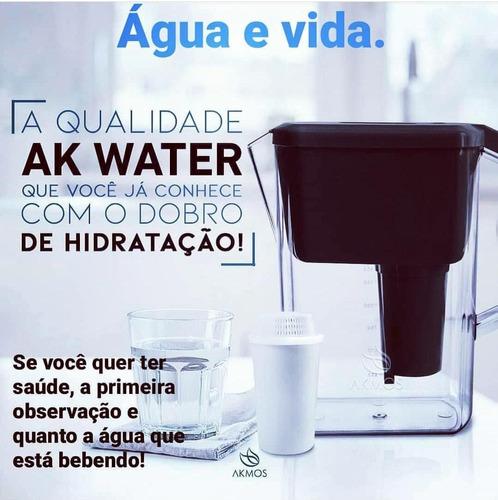 Jarra ,q Purifica Qualquer Água,já Vem Com Filtro+ Emantador