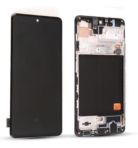 Tela Display Lcd Oled Para Samsung A51 C/ Moldura