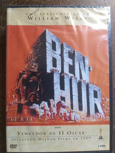 Dvd Duplo Ben-hur  (lacrado) Original