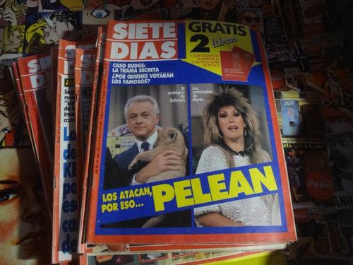 Siete Dias 1987 Moria Casan Gabriela Sabatini Bambino Veira