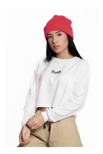 Long Sleeve De Dama Basico Streetwear