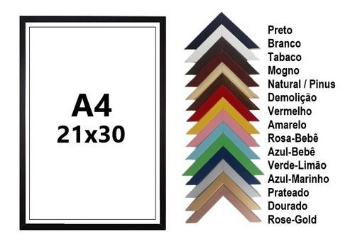 Moldura P/ Certificado Mei | Tamanho A4 | 21x30 C/ Vidro