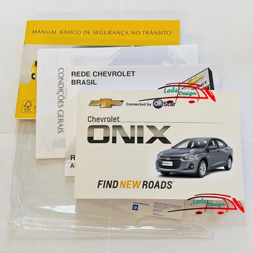 Manual Proprietário Livretos Onix Plus Turbo 2020 2021 2022