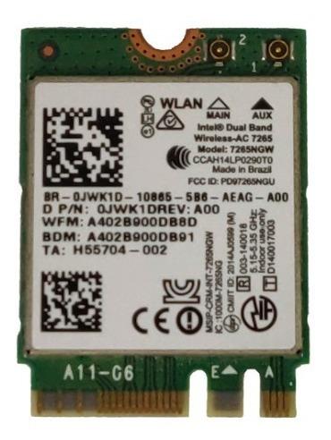 Placa Wireless Wifi Dell Inspiron 5547 5548  Pn-0jwk1drev