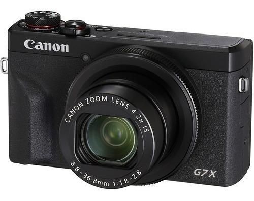 Câmera Digital Canon Powershot G7 X Mark Iii G7x 20.2mp