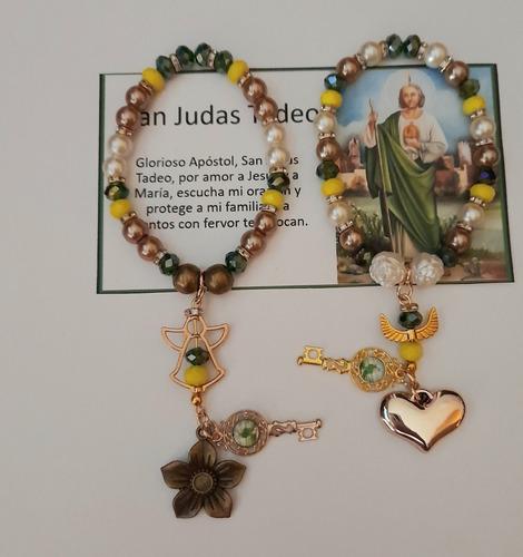 Pulsera De Protección De San Judas Tadeo Recuerdo