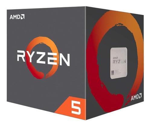 Processador Gamer Amd Ryzen 5 1600 Yd1600bbafbox De 6 Núcleos E 3.2ghz De Frequência