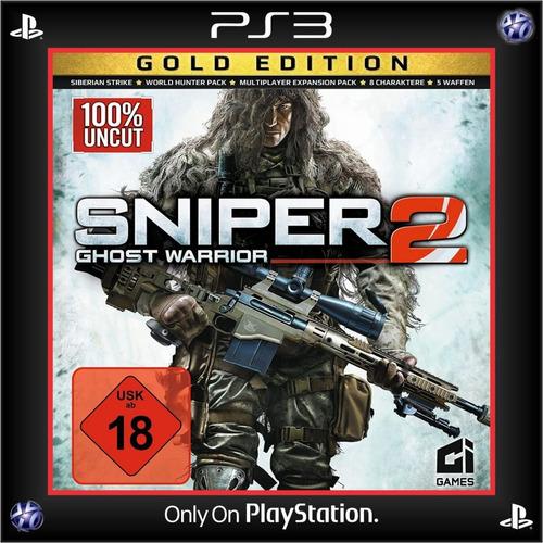 Sniper Ghost Warrior 2 Gold Edition Ps3 Digital