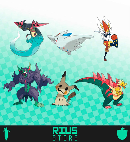 Equipo Competitivo - Pokémon Sword Shield / Espada Escudo