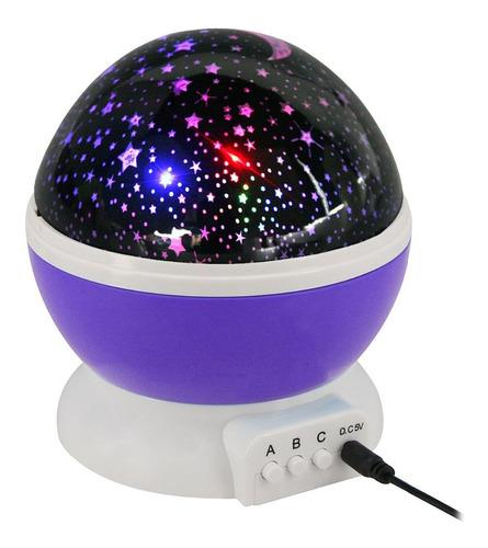 Luminária Projetor Estrela 360º Galaxy Abajur Star Master