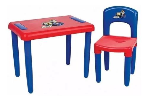 Mesa Mesinha Infantil Com Cadeirinha E Estojo Magic Toys