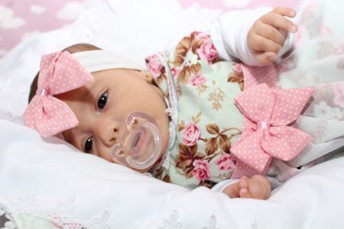 Kit Saída De Maternidade 05 Peças Menina - Lívia Rosa