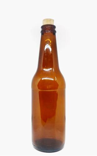 Botella Cerveza Ambar 330ml Paquete X12unid.
