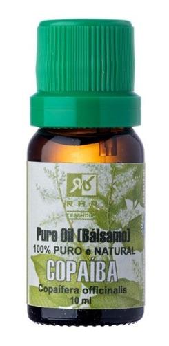 Óleo Essencial De Copaíba 100% Natural (10ml) - Rhr