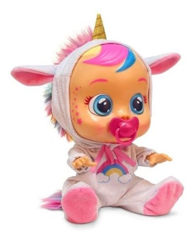Cry Babies Muñeca Unicornio (dreamy)