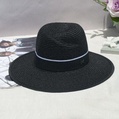 Chapéu De Sol Unisex Inglaterra Palha Capacete Verão Masculi