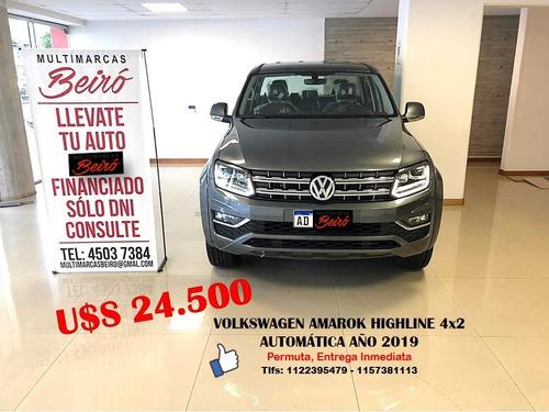 Volkswagen Amarok Highline 4x2 Aut / Año 2019