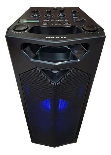 Parlante Winco W247 Portátil Con Bluetooth Negro